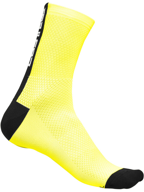 Castelli Distanza 9 Socks Unisex yellow fluo/black